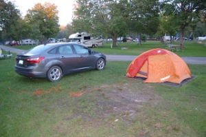 Brimley State Park Camping